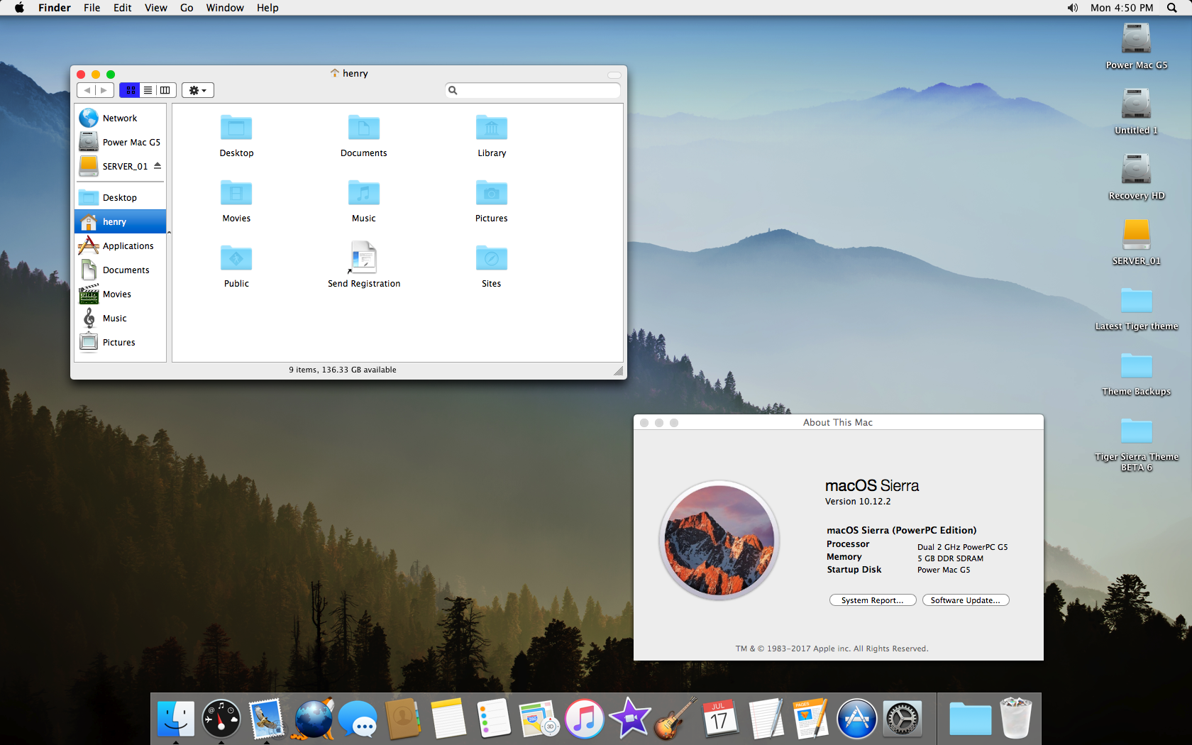 how to change dock look on mac sierra