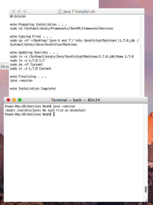 How to install Java 6 and 7 on PPC OS X | Page 2 | MacRumors Forums