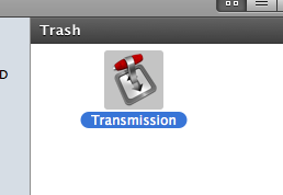 Is your Mac crashing? If you use Transmission the BitTorrent program