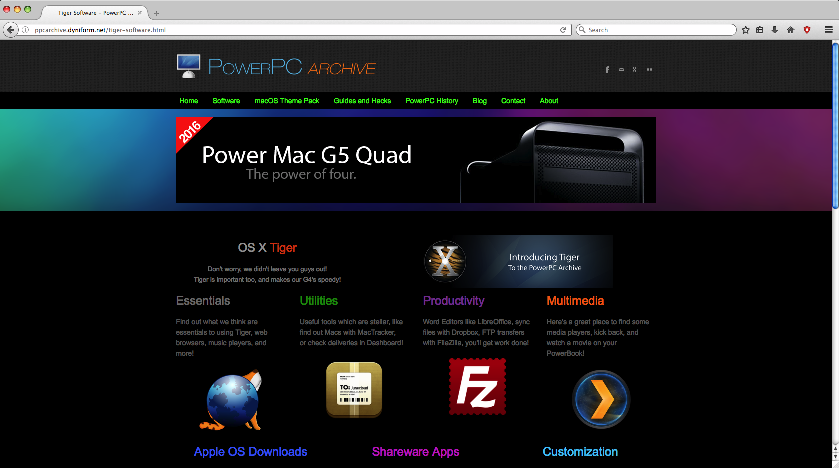 What Apps Do You Use on OS X Tiger? | MacRumors Forums