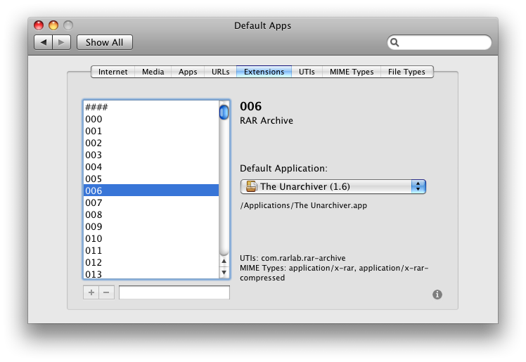 How to edit file and app associations system wide? | MacRumors Forums