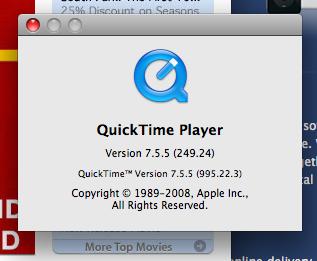 Quicktime 7.5.7 install problem | MacRumors Forums