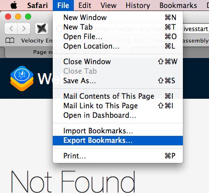 how to delete bookmarks in safari on imac