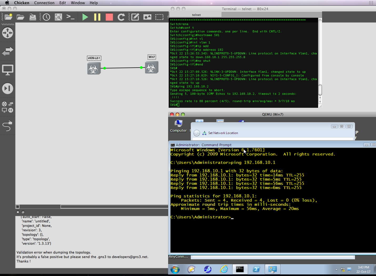 WIP} GNS3 1 4 0a1 on a PowerPC running OS X 10 5 8 | MacRumors Forums