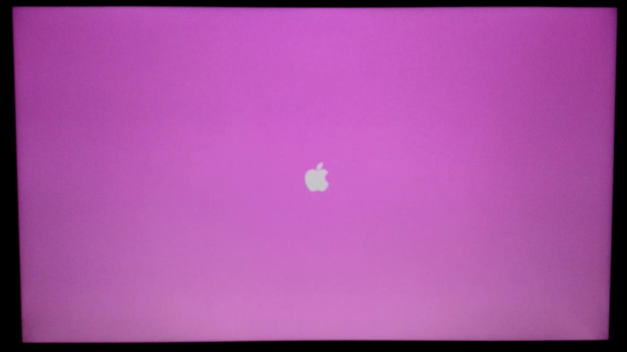 Mac Pro 2013 Pink Startup screen | MacRumors Forums