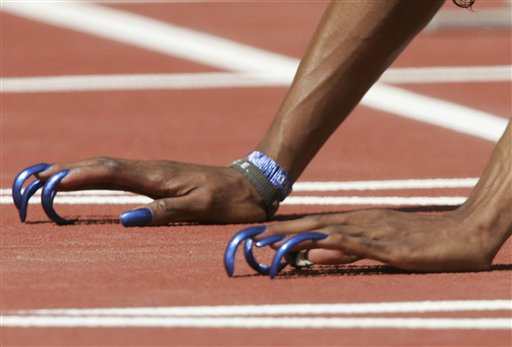 Резултат с изображение за gail devers nails