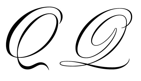 Worksheets Uppercase Q In Cursive font for a nice cursive upper case q macrumors forums png