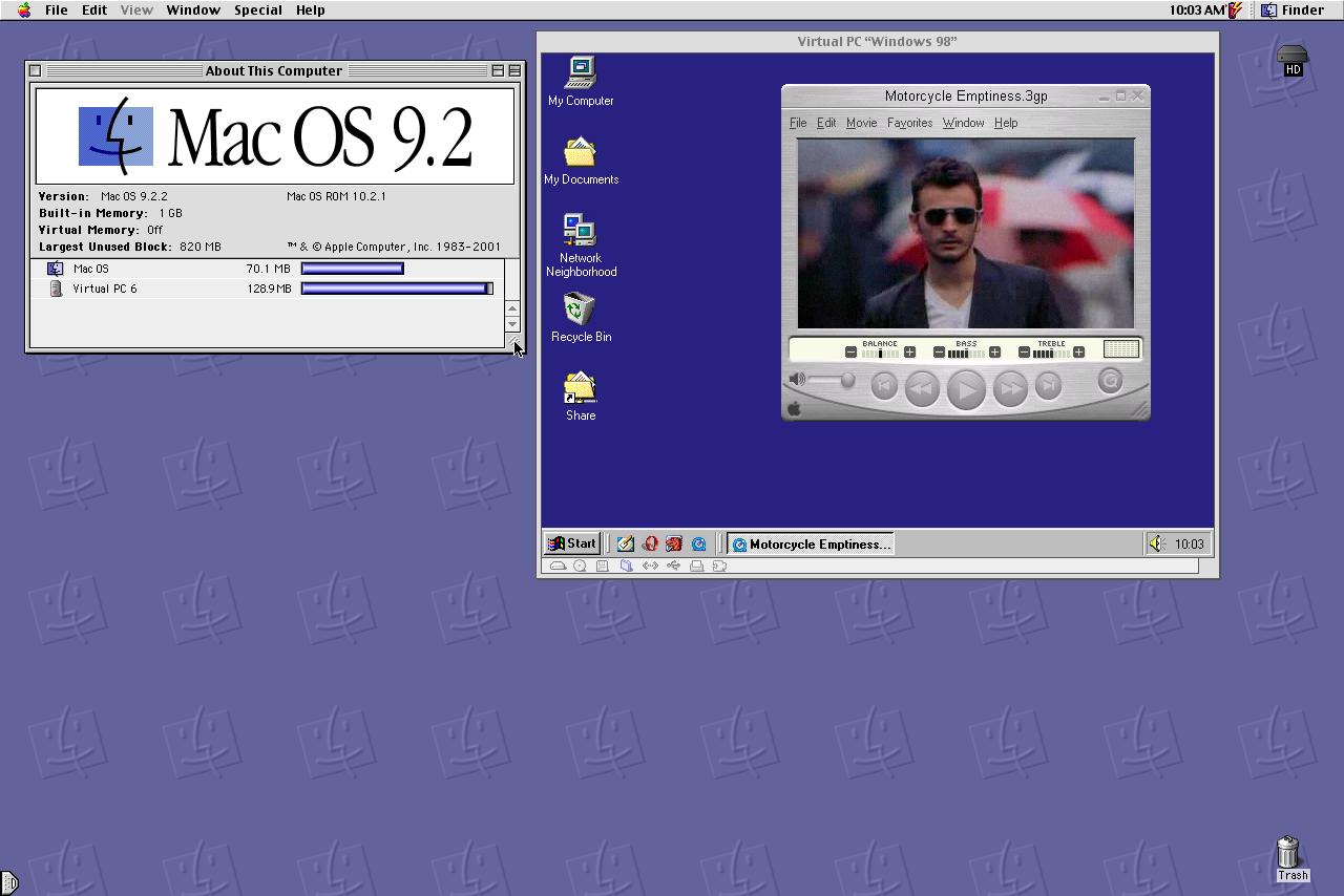 Virtual PC on OS9 | MacRumors Forums