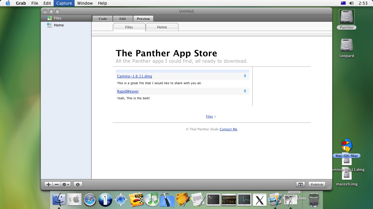 UPDATE] The Tiger App Shop! | Page 2 | MacRumors Forums