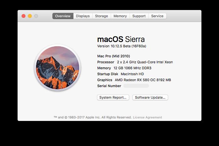 AMD Radeon RX 580 works in macOS | MacRumors Forums