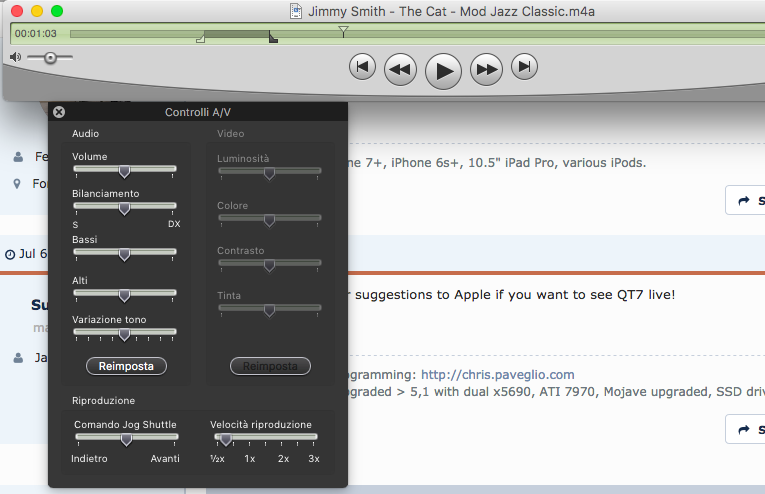 Replacement for Quicktime Player 7 Pro | MacRumors Forums