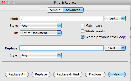 Pages: How to Make ALL Periods in Document Bigger? :) | MacRumors ...