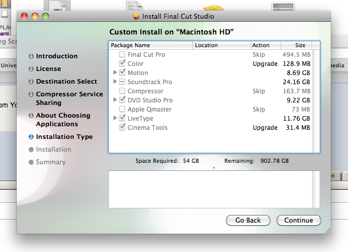 Final Cut Studio 5 1 compatibility issues with Snow Leopard