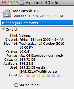 Mac HD full but cant find files | MacRumors Forums