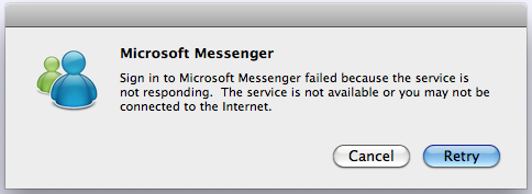 Mac Messenger has stopped working