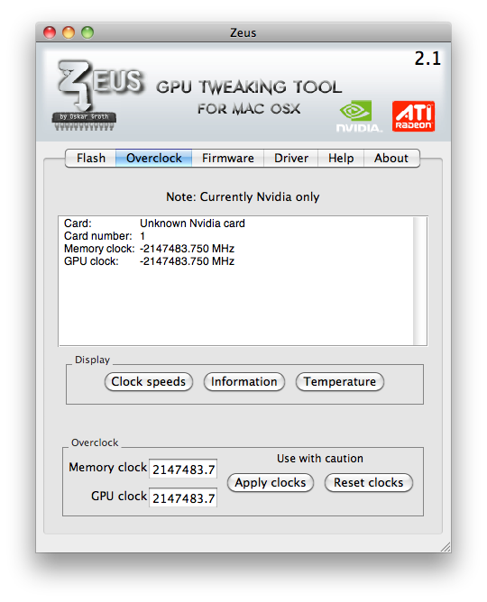 Finally a GPU overclock solution for OSX! | MacRumors Forums