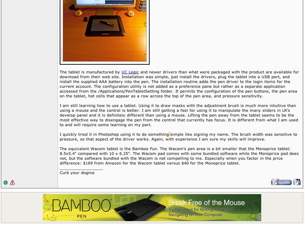 Quick review: Monoprice 10x6 25