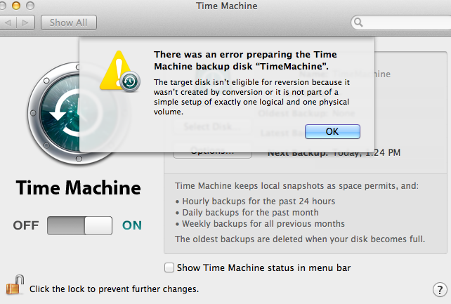 Can't Turn Off Encryption | MacRumors Forums
