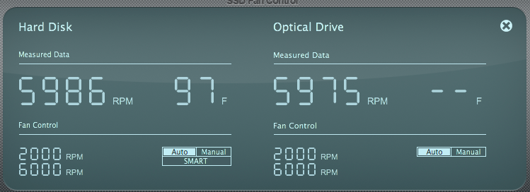Software to reduce constant high fan speed? | MacRumors Forums