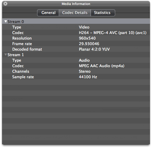 Unable to play H264 AVC  mp4 in Quicktime Player 10 | MacRumors Forums