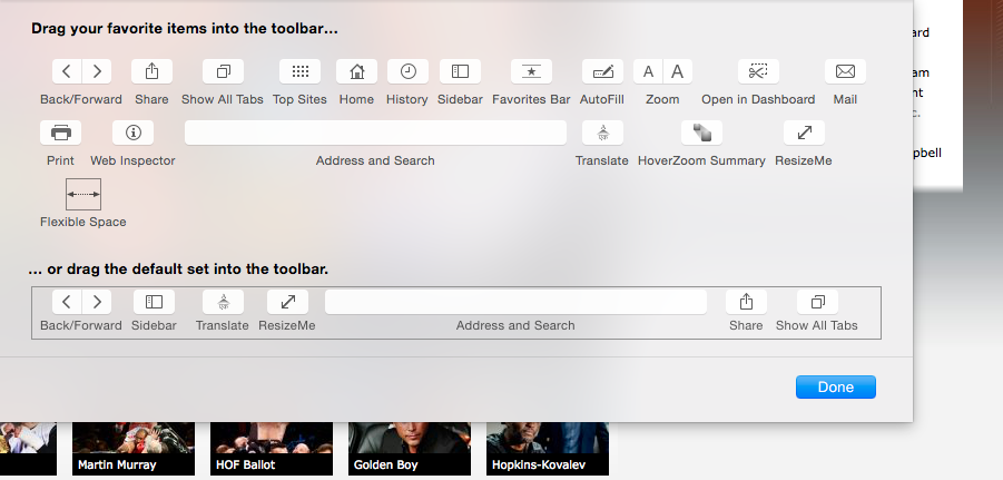 Downloads Toolbar Icon vanished from Safari | MacRumors Forums
