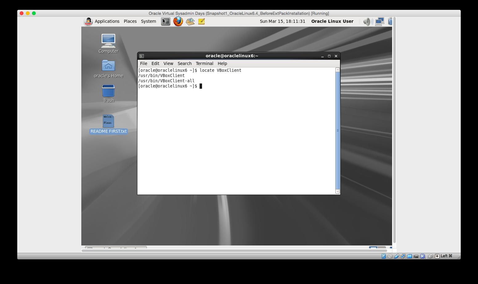 Oracle_Linux OS on Oracle VirtualBox on my Mac OS X   MacRumors Forums