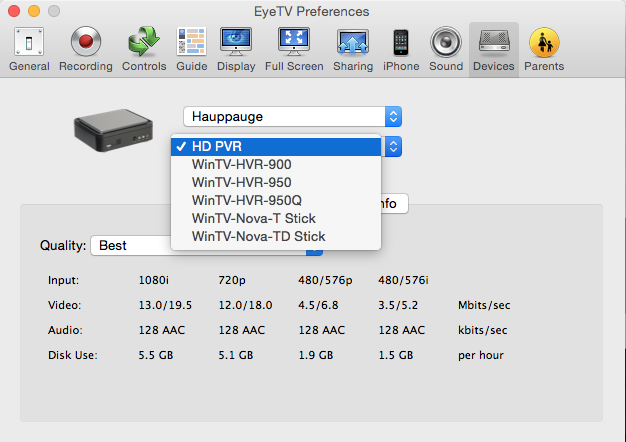What Software to Record Tv On Mac From Hauppauge PVR 2