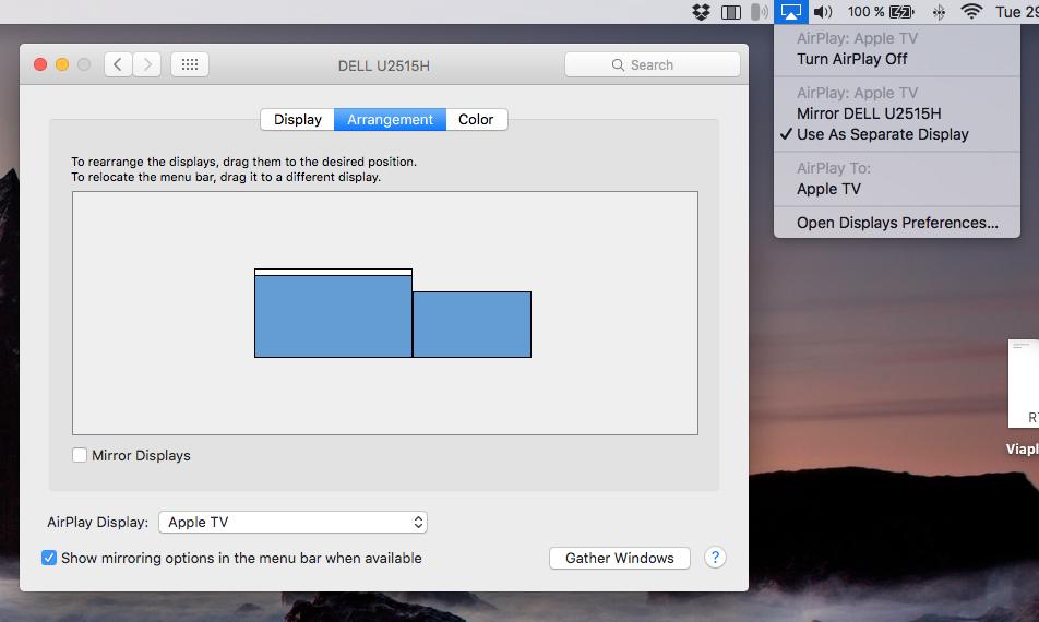 hack airplay mirroring older mac