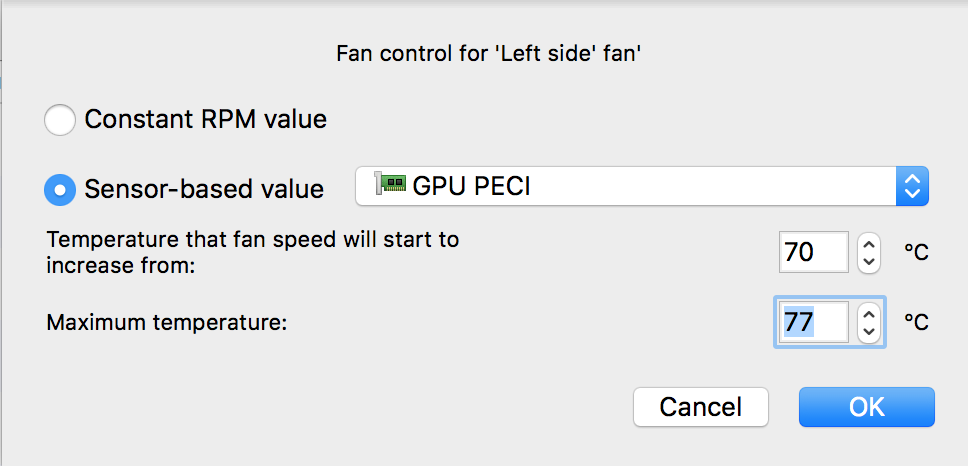 Is it okay when i play games my fan rpm is 5200? (macbook