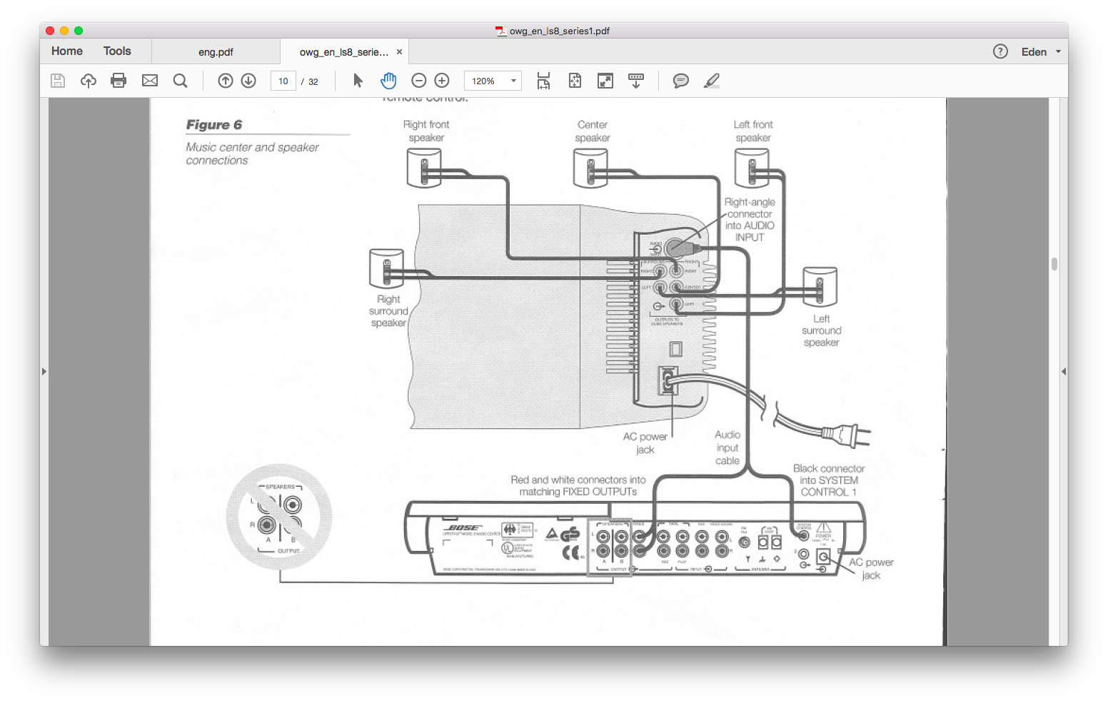5 1 bose speakers system wiring diagram data wiring diagram blog Bose 901 Speaker Wiring Diagram bose lifestyle 5 wiring diagram wiring diagram data bose subwoofer wiring 5 1 bose speakers system wiring diagram