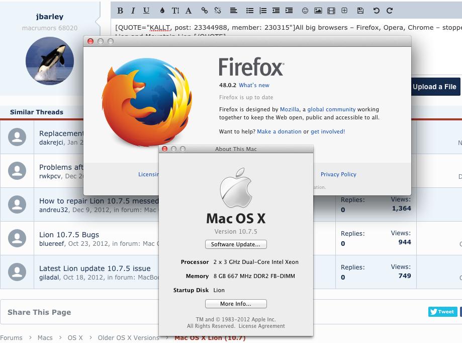 firefox pour mac os 10.7.5