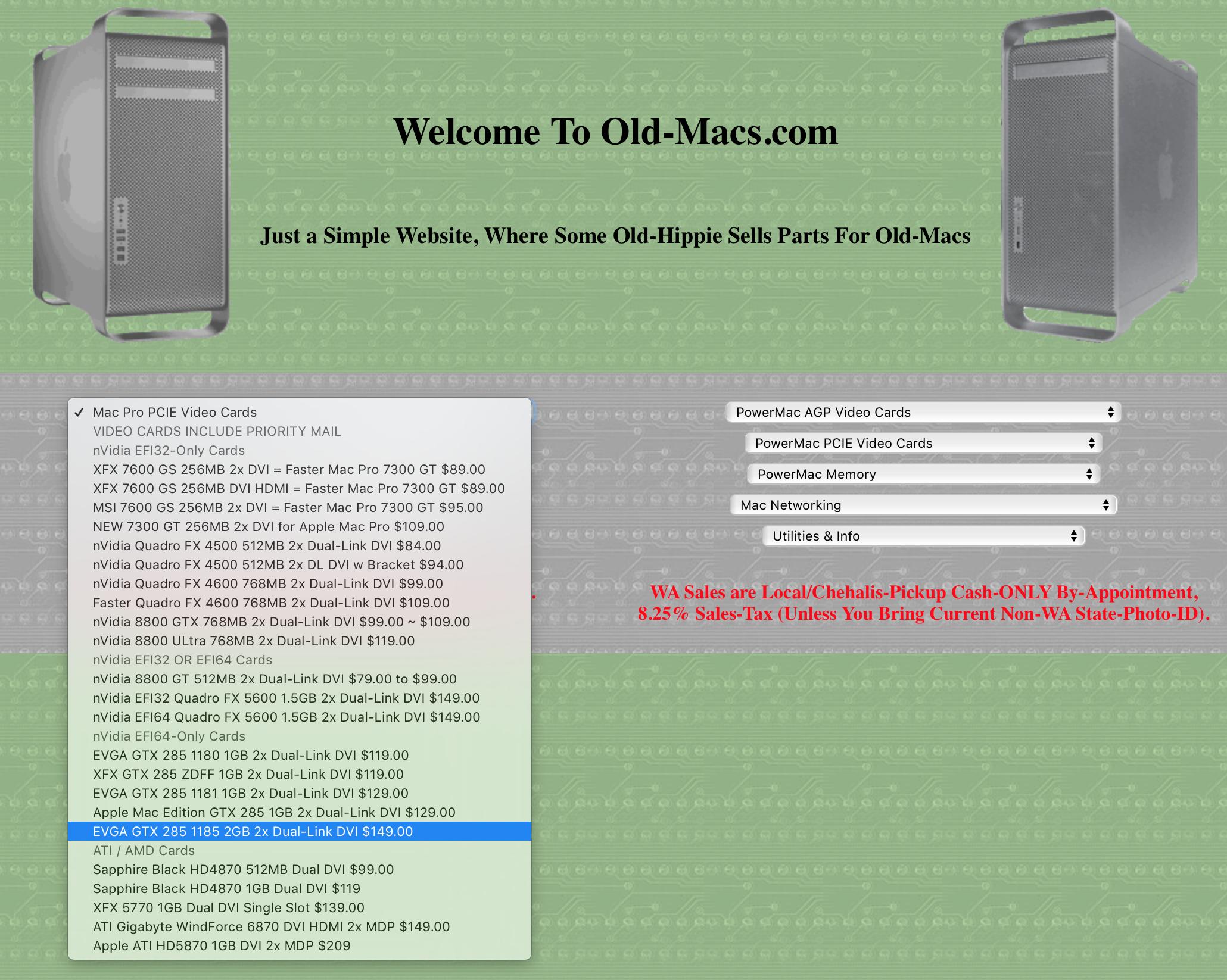 Status of MacVidCards? | Page 2 | MacRumors Forums