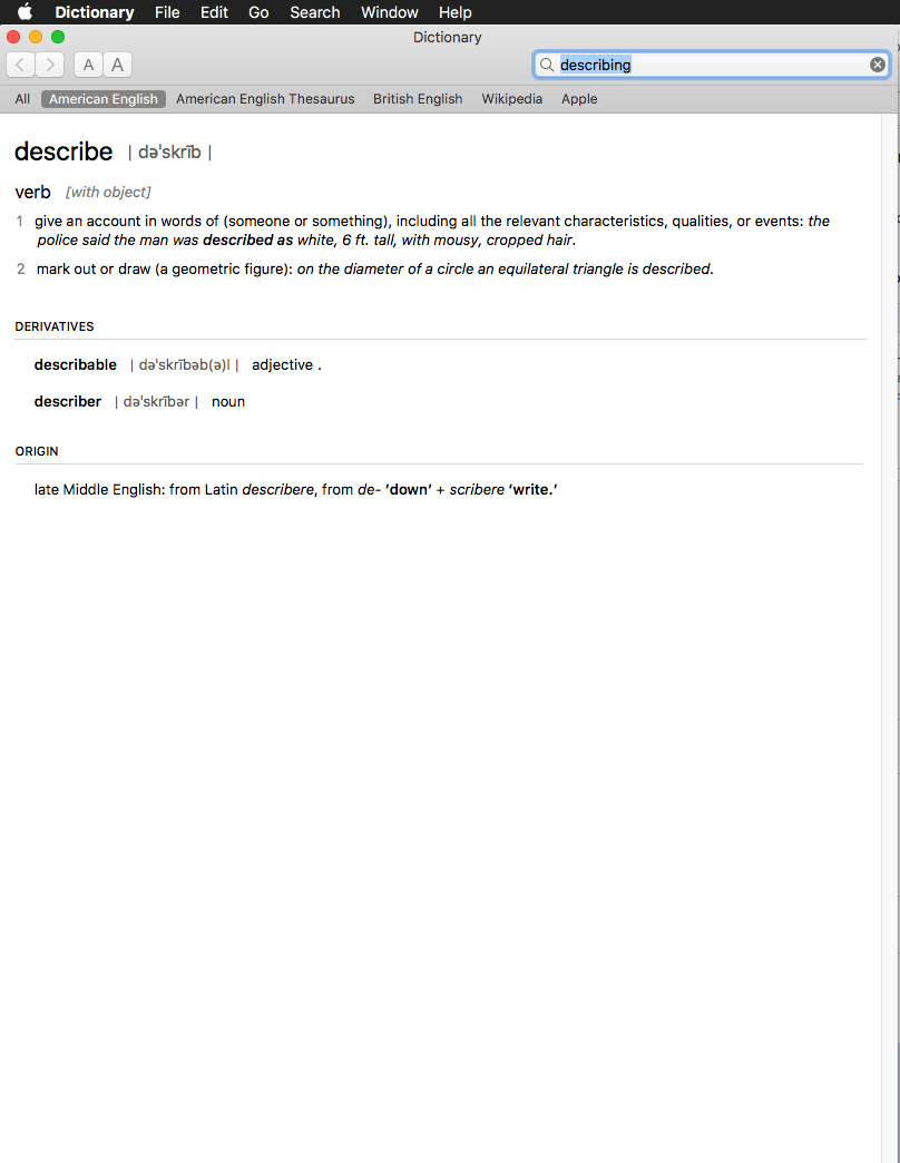 Giving Dictionary permanent permission to open | MacRumors Forums