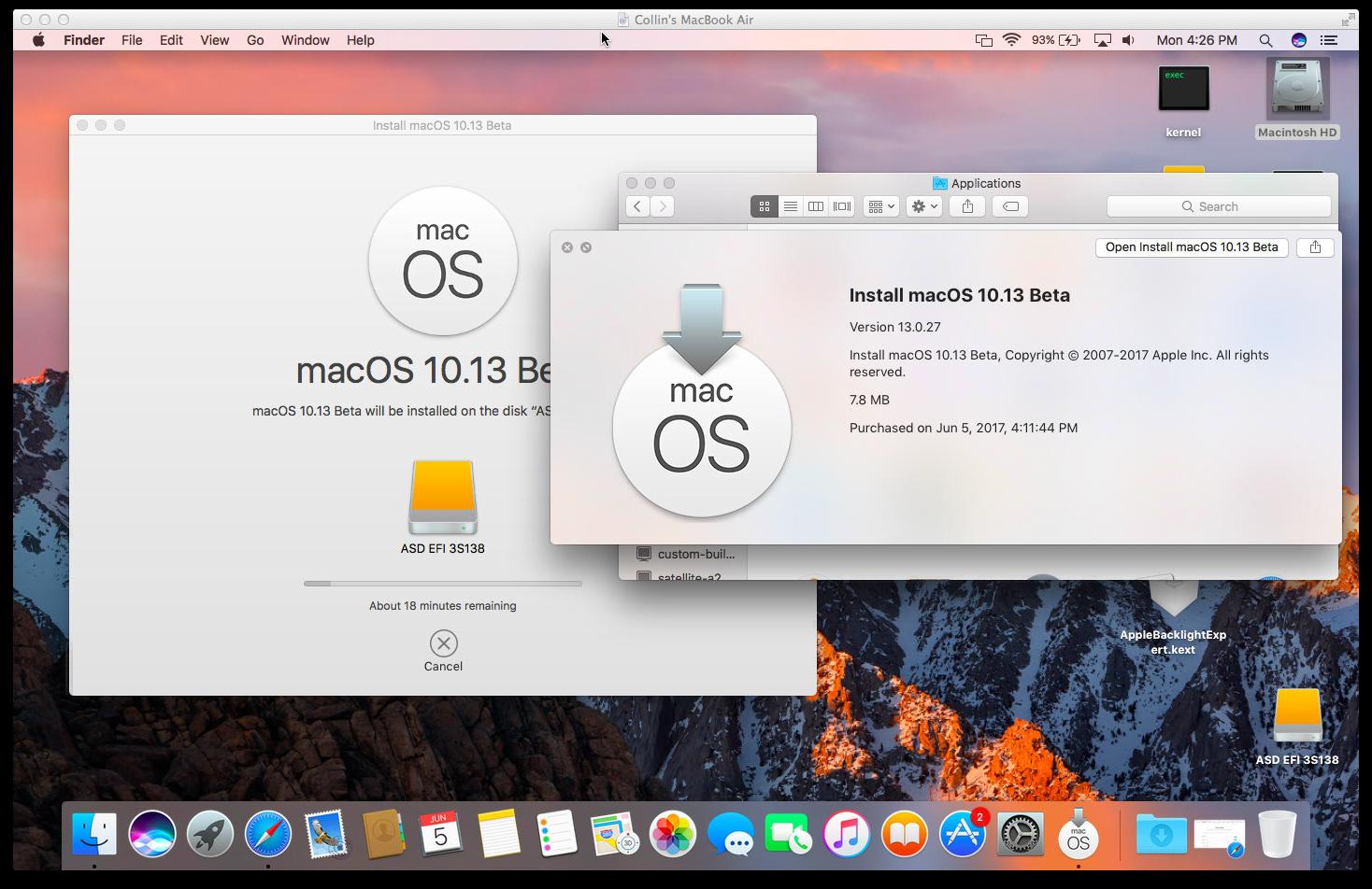 macOS High Sierra (10 13) Unsupported Macs Thread   MacRumors Forums