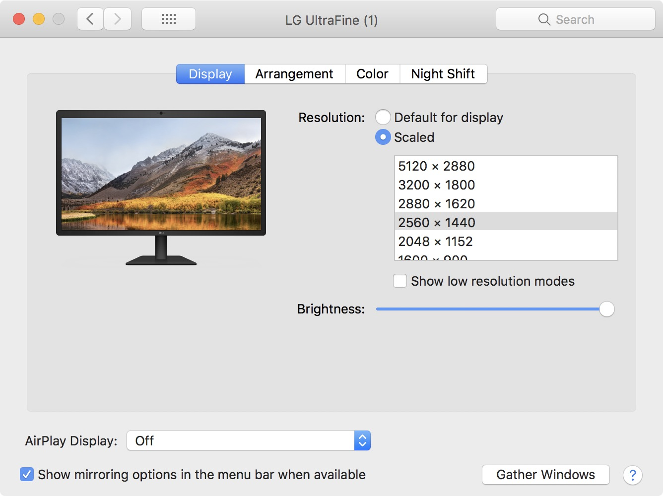 LG Screen Manager App for UltraFine Displays Updated for macOS High