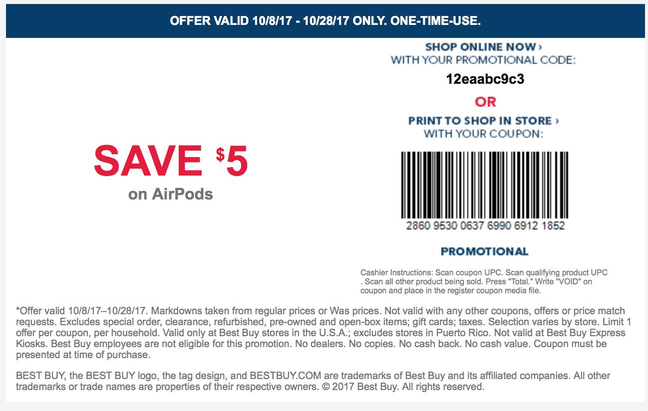 airpods coupon