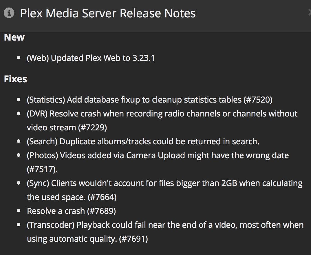 Resolved - Apple TV 4 / Mac Mini Server / Plex stuttering