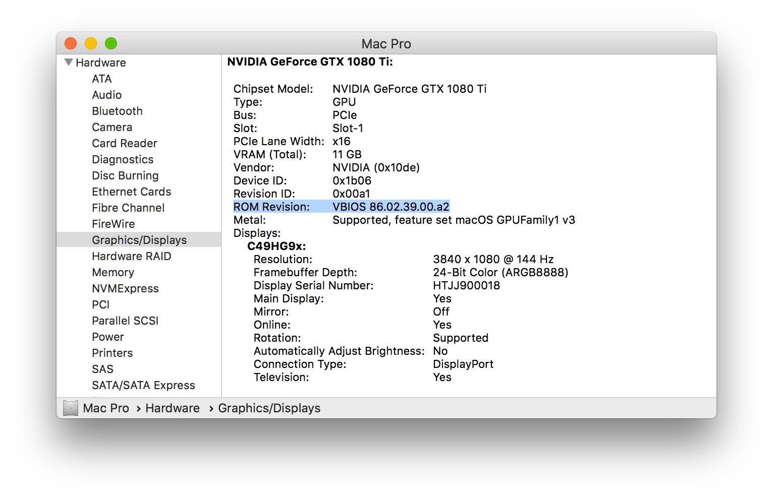 MP All Models - AMD Polaris, Vega, & Navi GPU macOS Support
