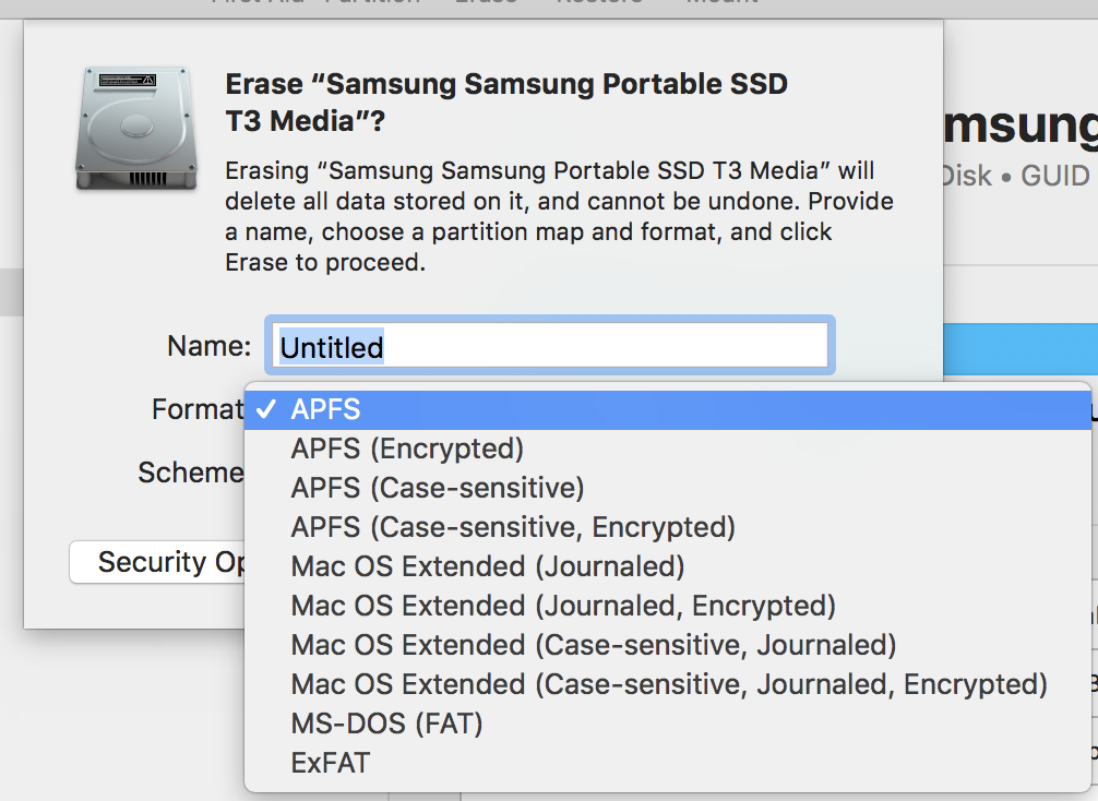 APFS vs External Samsung T3 | Page 2 | MacRumors Forums