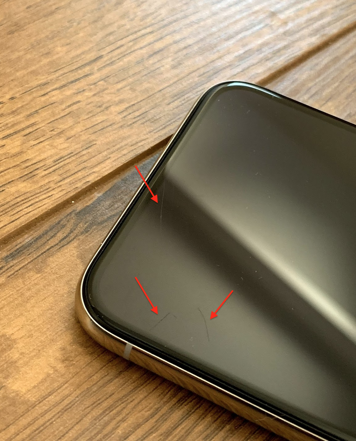 quality design f19a3 1f324 iPhone X - Can I repair screen scratches with AppleCare?   MacRumors ...