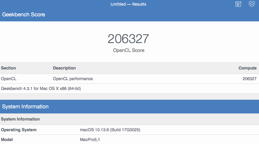 First Benchmarks for MacBook Pro With New Radeon Pro Vega