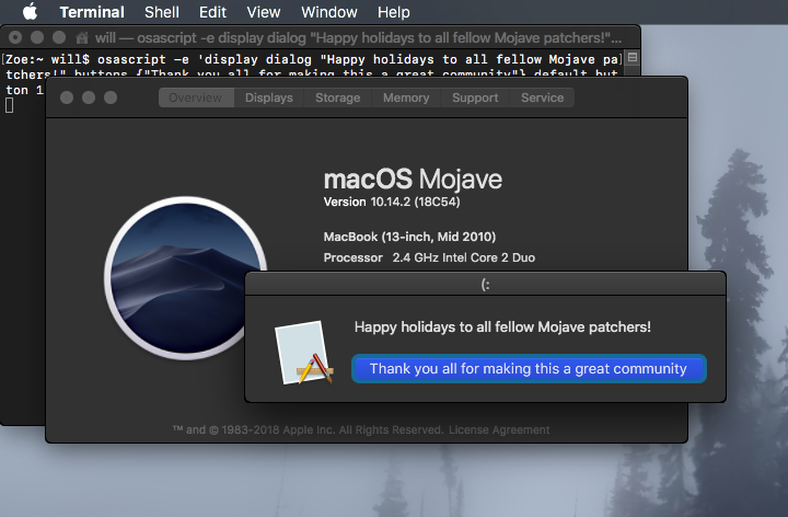 macOS 10 14 Mojave on Unsupported Macs Thread | Page 450 | MacRumors