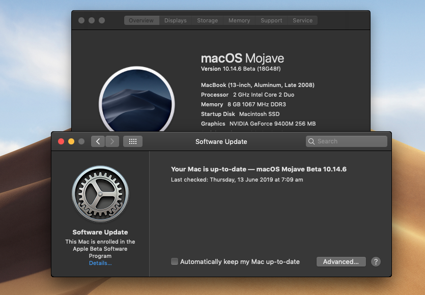 macOS 10 14 Mojave on Unsupported Macs Thread | Page 642