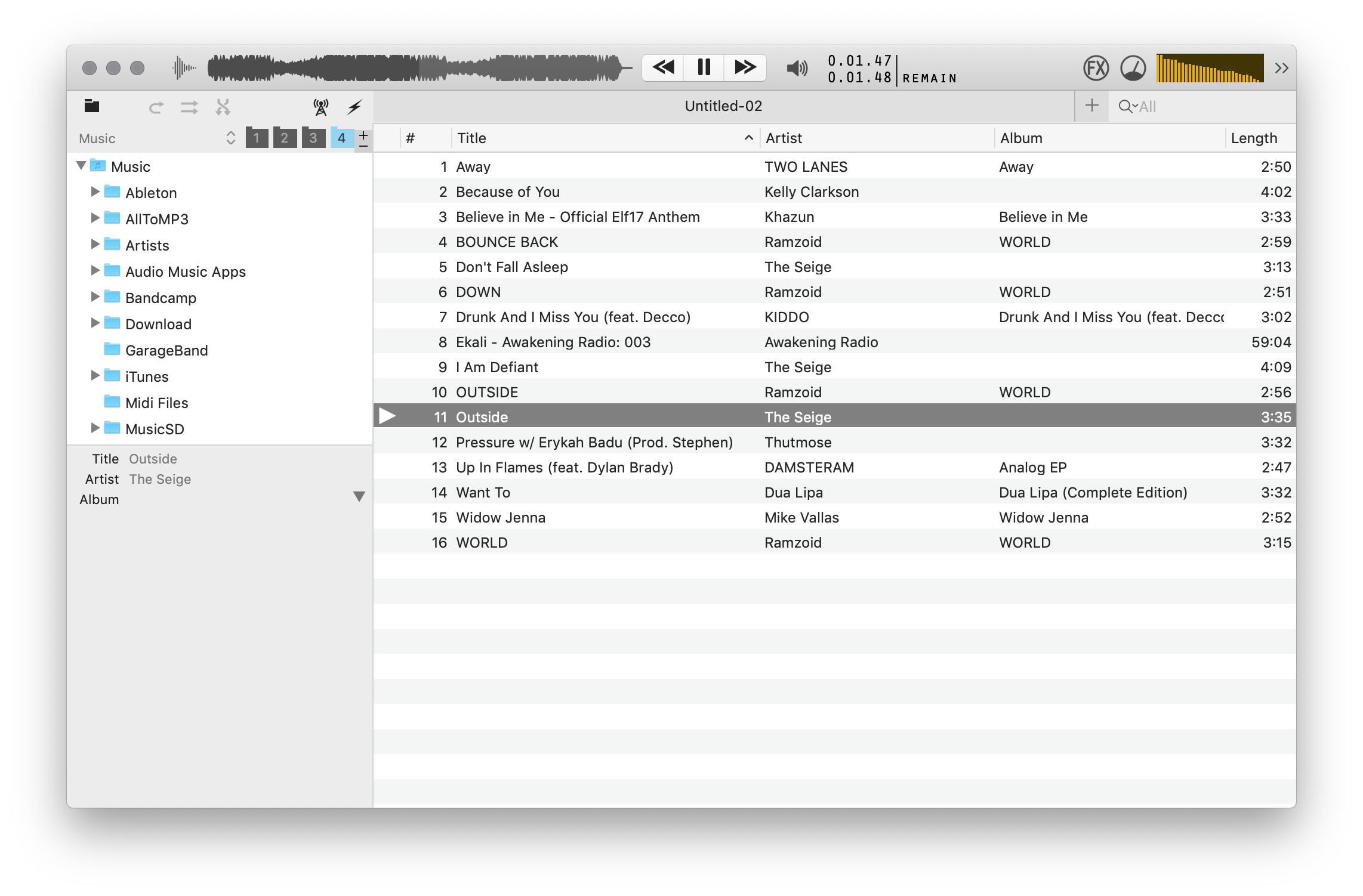 Phonix - Free macOS music player | Page 11 | MacRumors Forums