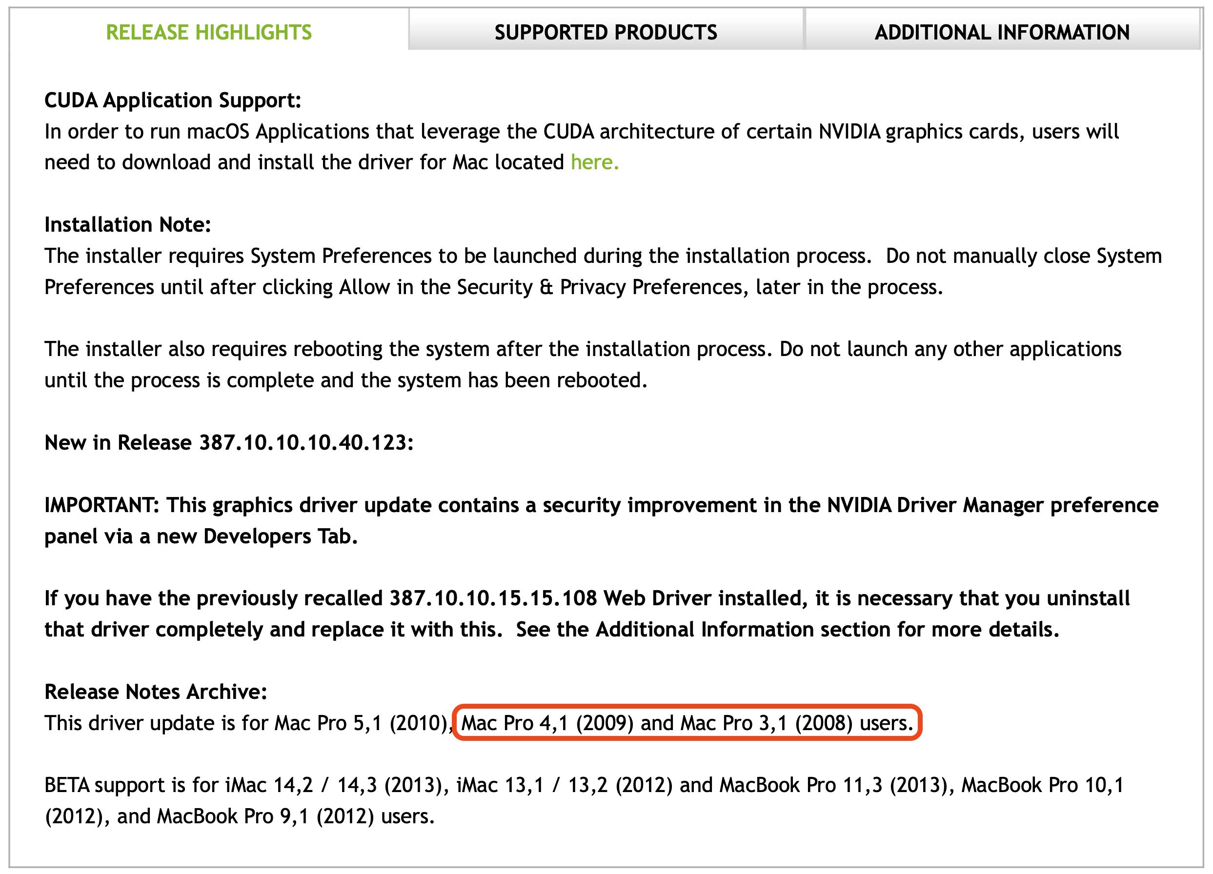 MP All Models - FAQ - Nvidia Web Drivers   Page 3