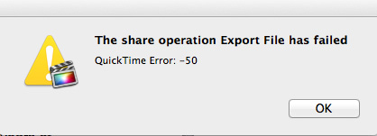 Final Cut Pro X exporting issue - OS X Mavericks | MacRumors Forums