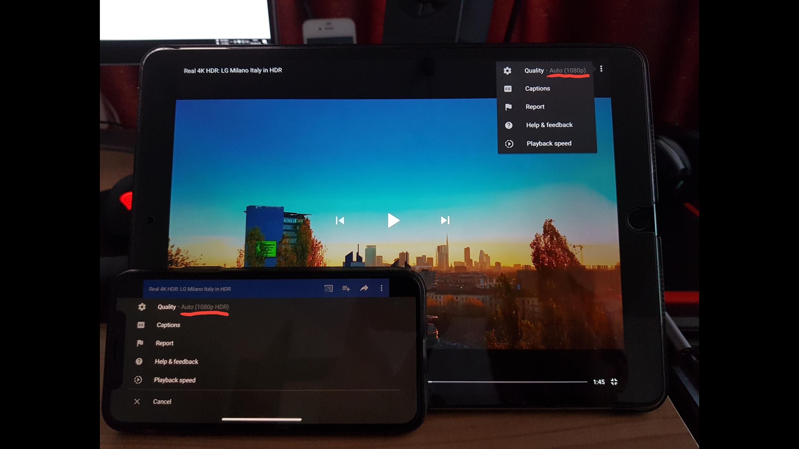 iPad Pro - iPad Pro 10 5 YouTube HDR! | MacRumors Forums