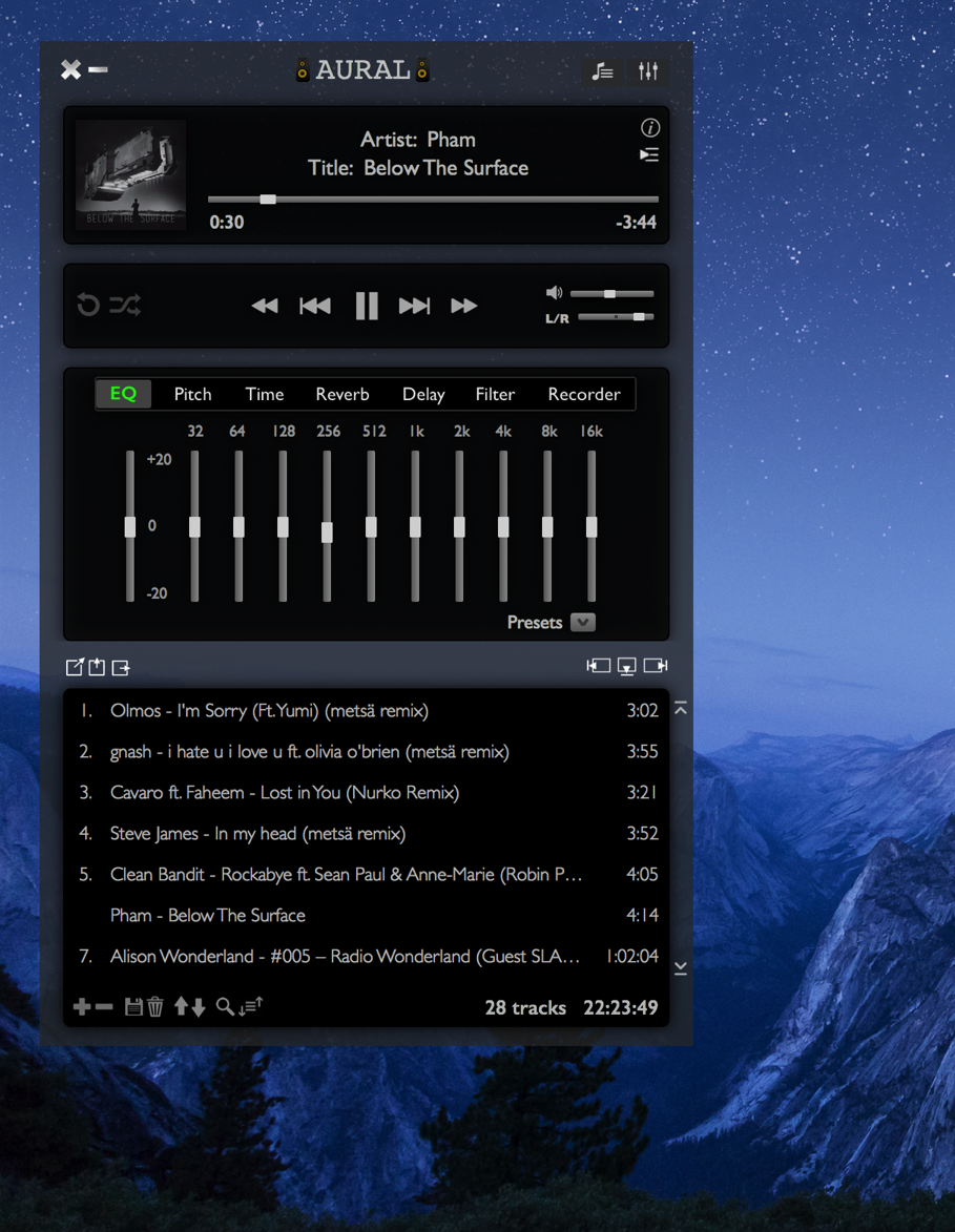Aural Player - free & open source audio player | Page 4 | MacRumors