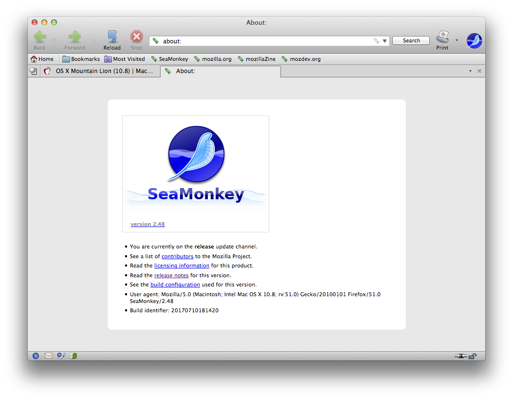 Best Browser for OS X Mountain Lion in 2016? | MacRumors Forums