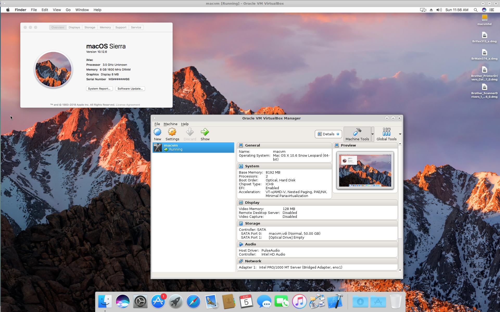 MacOS in a virtual machine? | MacRumors Forums